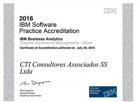 Acreditação IBM Software Practice Accreditation